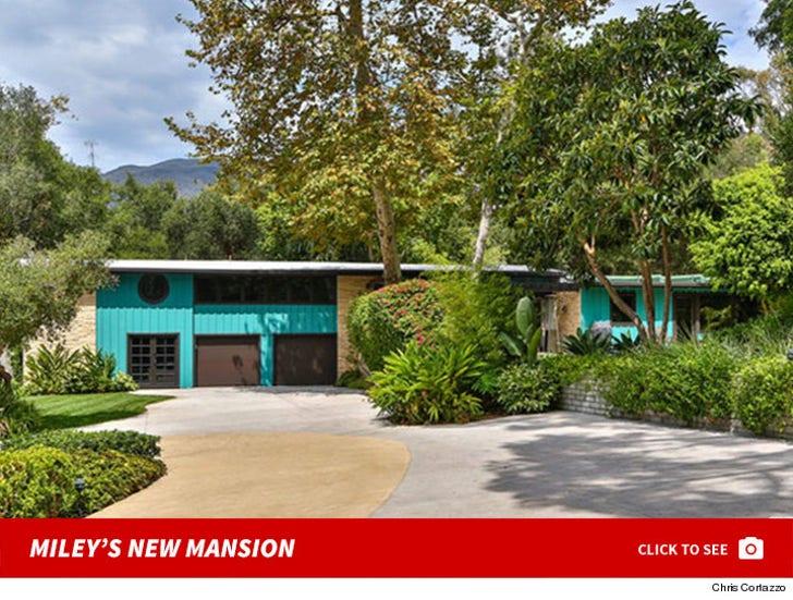 Miley Cyrus' Malibu Mansion