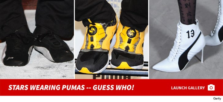 Stars Wearing PUMAs -- Guess Who!