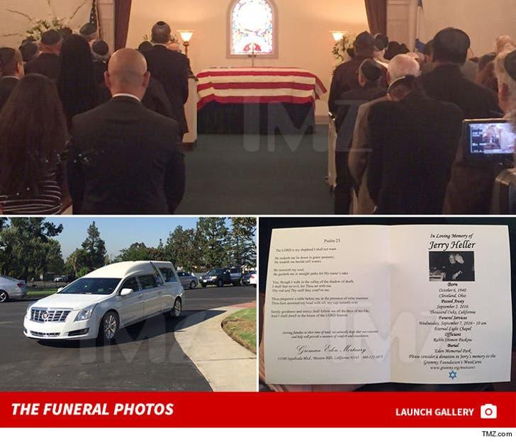 Jerry Heller Funeral