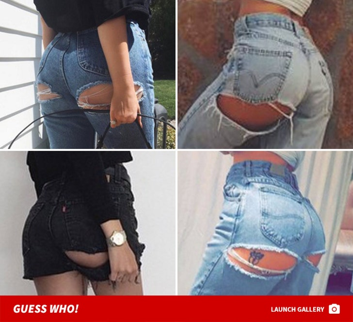 Ripped Celebrity Booties -- Guess Who!
