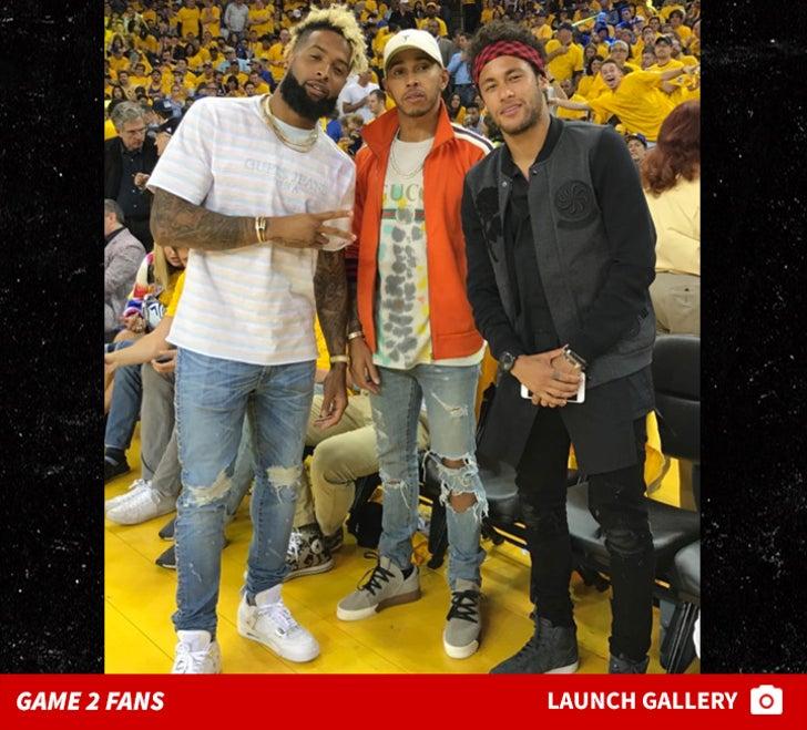 NBA Finals -- Game 2 Fans