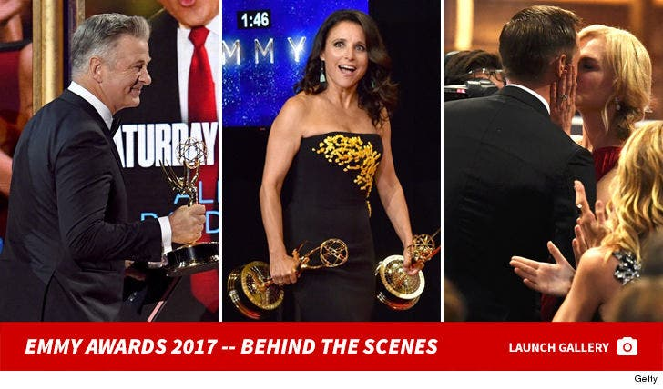 69th Annual Primetime Emmy Awards -- Behind the Scenes Photos
