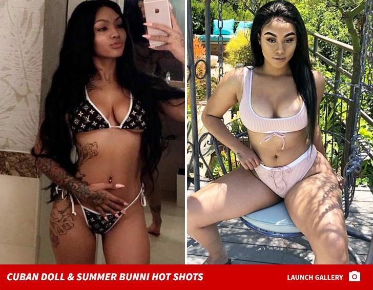 Cuban Doll & Summer Bunni Hot Shots