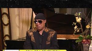 Stevie Wonder Gets Emotional Remembering Last Words to Aretha Franklin