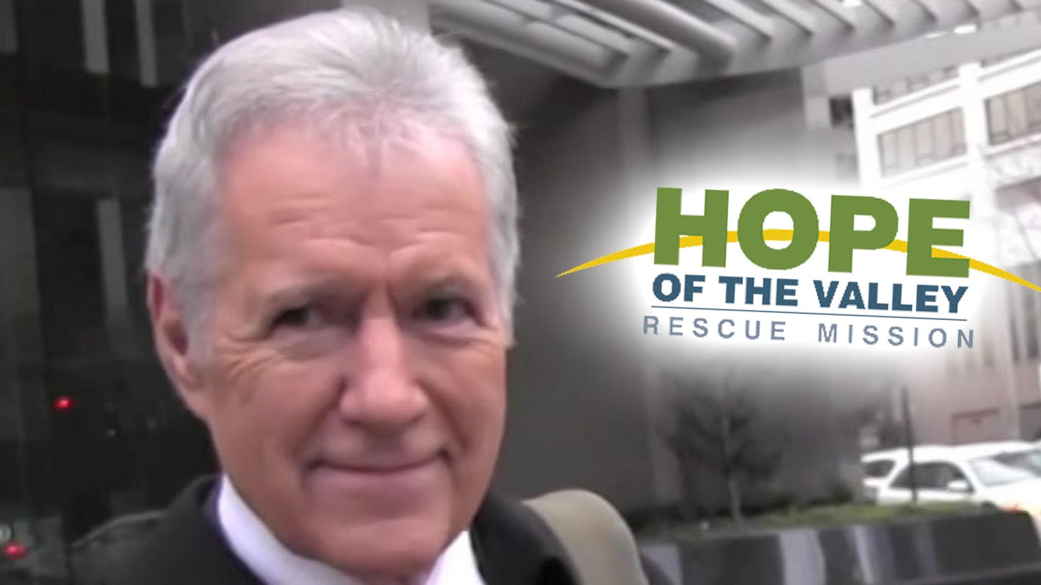Alex Trebek Donates $100k to Homeless Shelter Gets Wing Named After Him