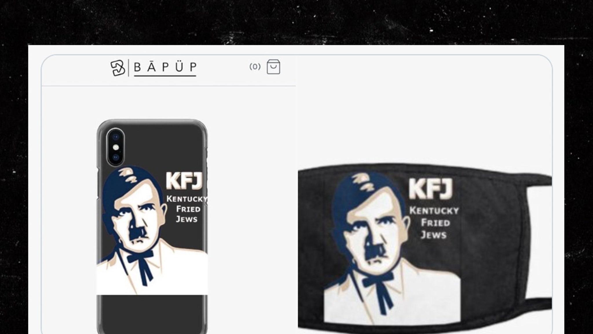 Hitler 'Kentucky Fried Jews' Merch Pops Up Online, Site Taken Down