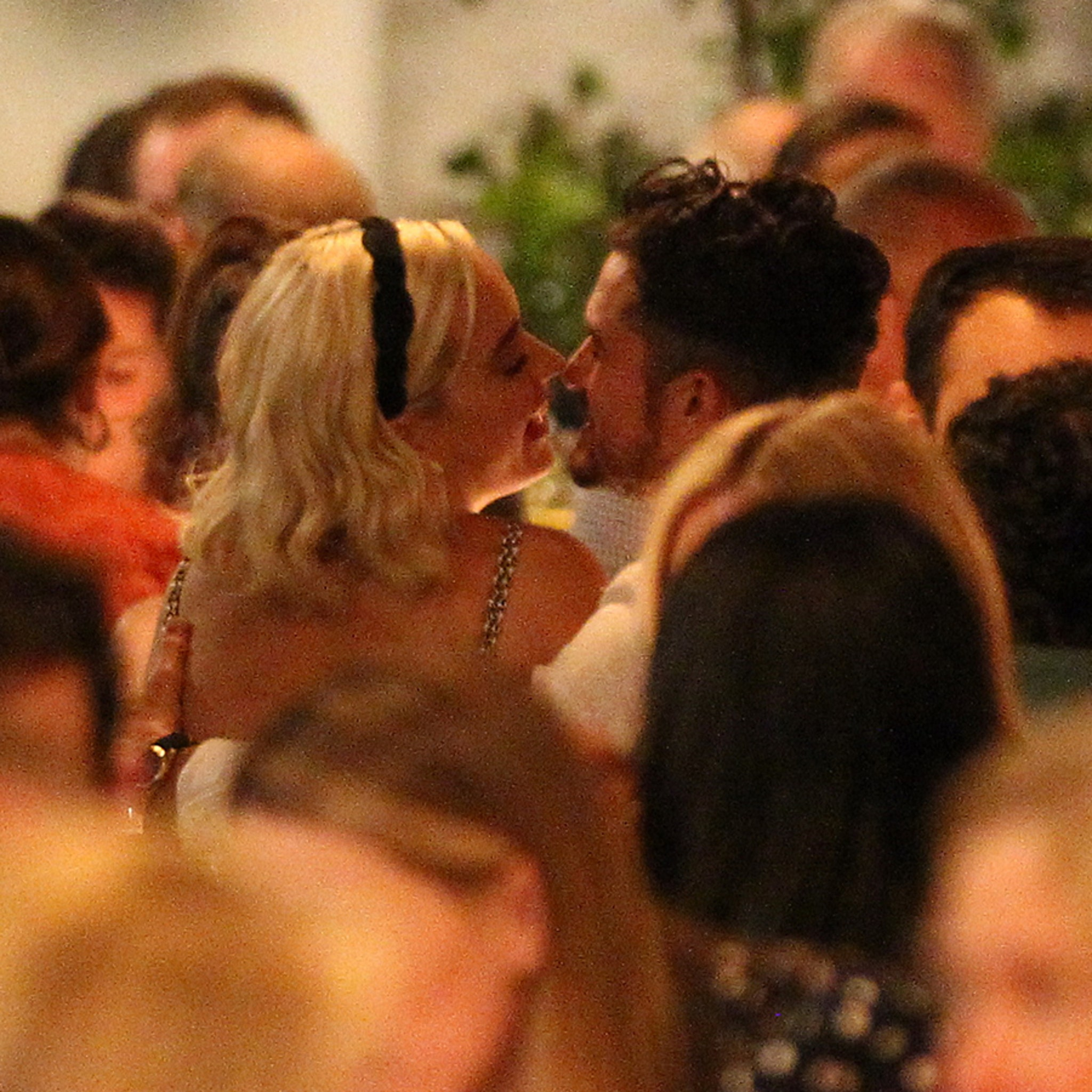 Katy Perry and Orlando Bloom Attend Pre-Wedding Dinner in Rome