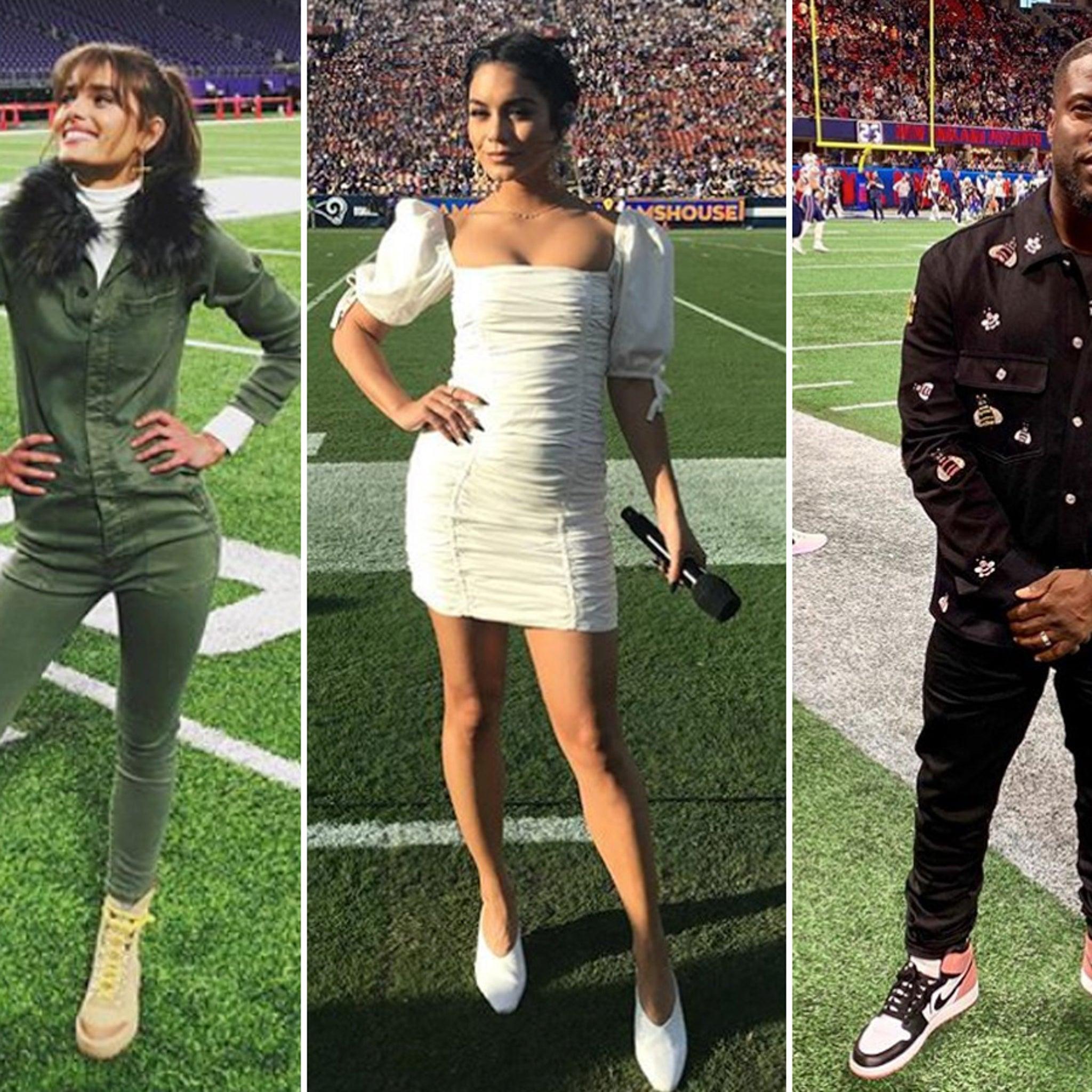 Famous NFL Fans Having A Field Day!