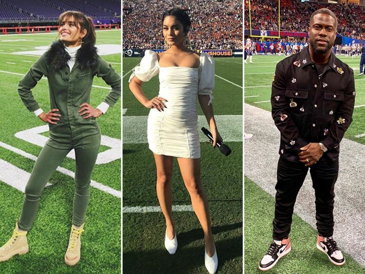 Celebs Having A Field Day -- Famous NFL Fans!
