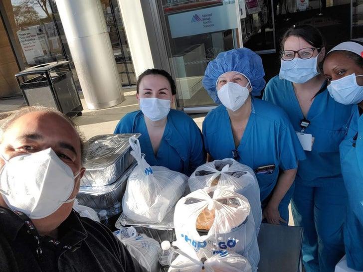 Joseph Gannascoli Donates Meals For First Responders