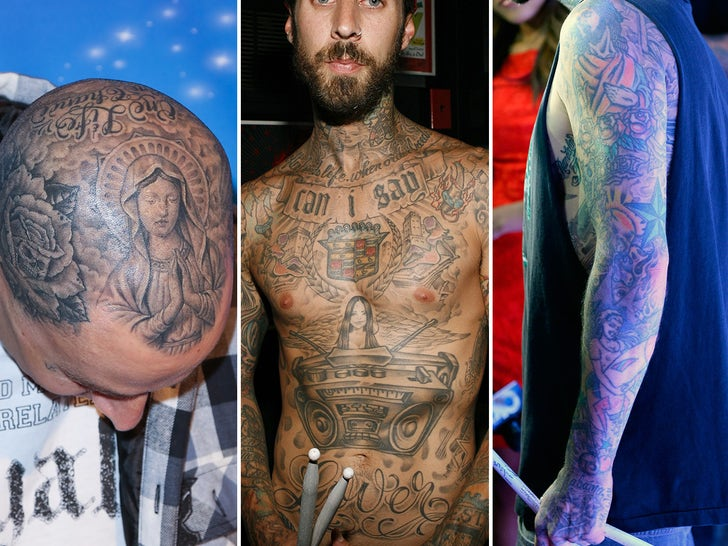 Travis Barker's Ink-redible Tattoos