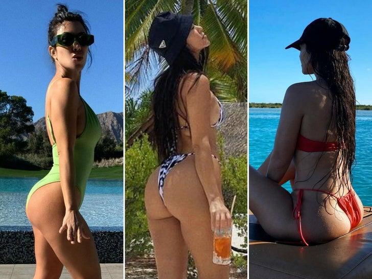 Kourtney Kardashian's Booty-ful Shots