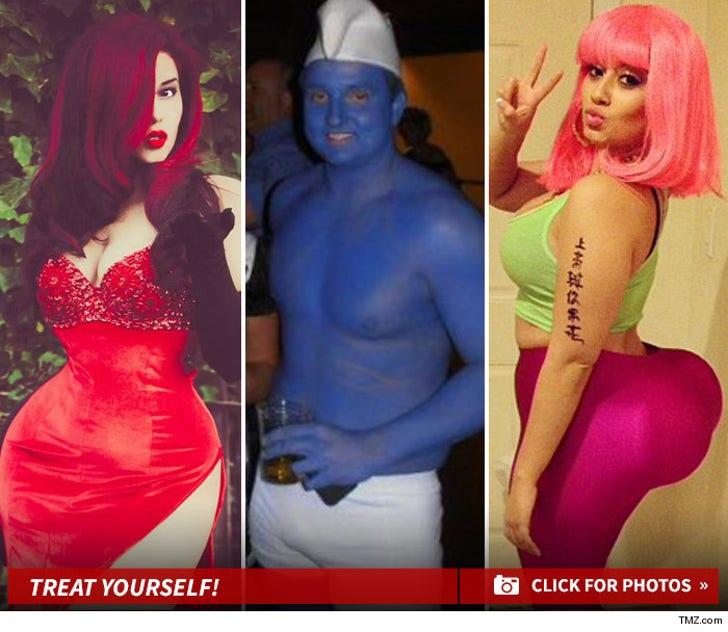 TMZ's Sexy Halloween Costume Contest