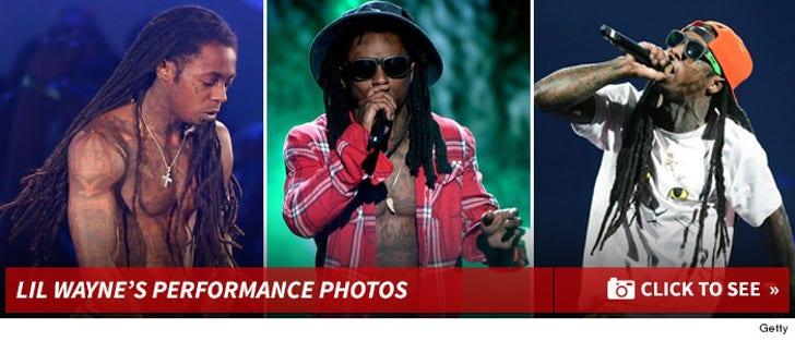 Lil Wayne's Performance Photos