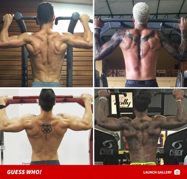 Baby Got Back ... Muscles -- Guess Who!