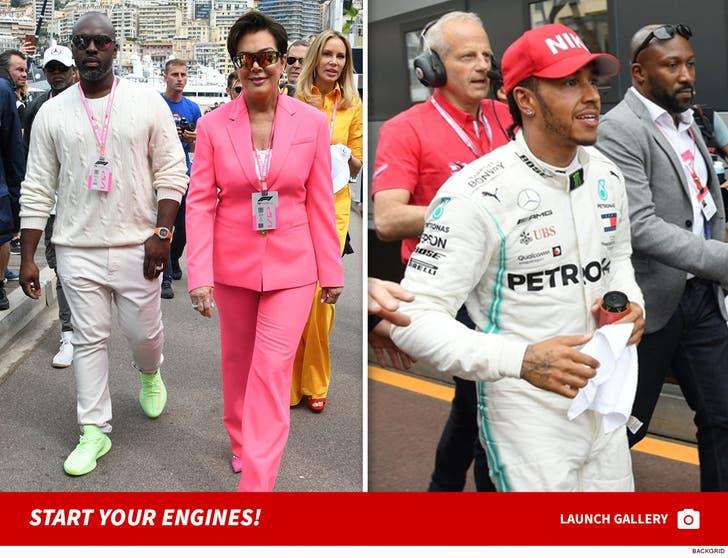 Celebs at the 77th Formula 1 Grand Prix of Monaco