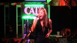 WWE Announcer Lilian Garcia -- Bad Ass Bourbon Street Karaoke
