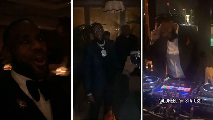 LeBron James Celebrates 35th Birthday with Lakers Players - EpicNews