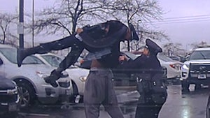 College Football Player Body Slams Cop During Arrest, Insane Police Video