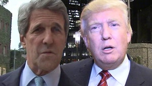 John Kerry Joins Trump in Ripping Rep. Massie for Opposing Stimulus Bill