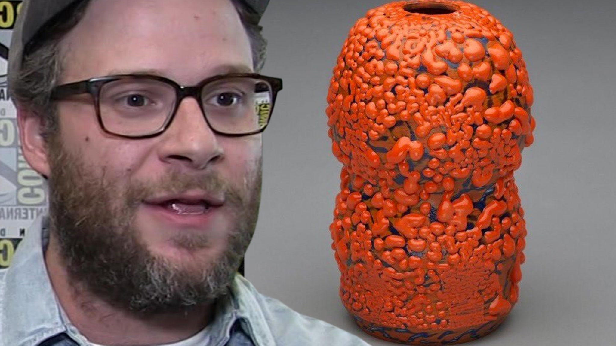 Seth Rogen's Ceramic Vase Sells for Thousands at Auction