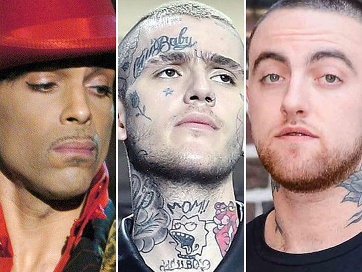 Celebrity OD Deaths