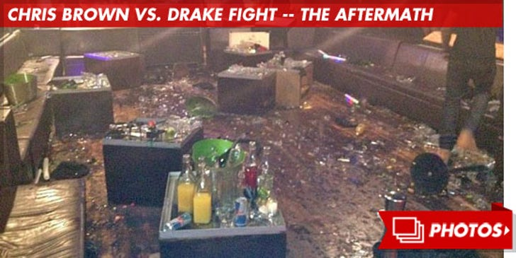 Chris Brown vs. Drake Fight -- The Aftermath