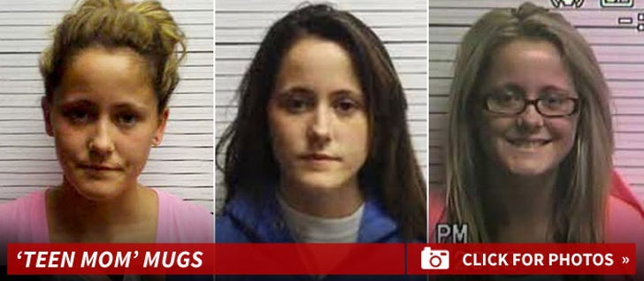 Teen Mom Cast -- Mug Shots