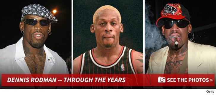 Dennis Rodman -- Through the Years