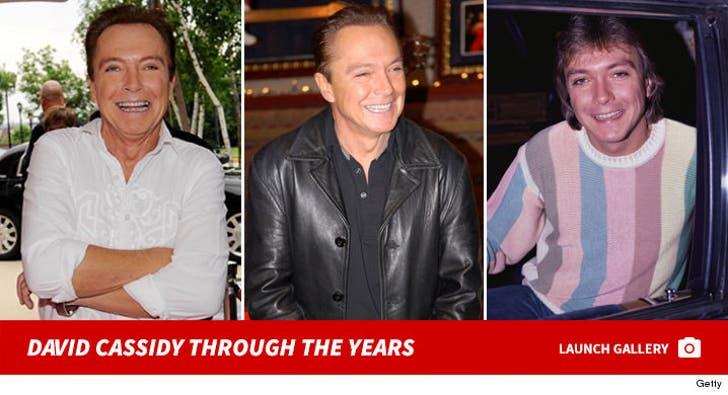 David Cassidy -- Through the Years