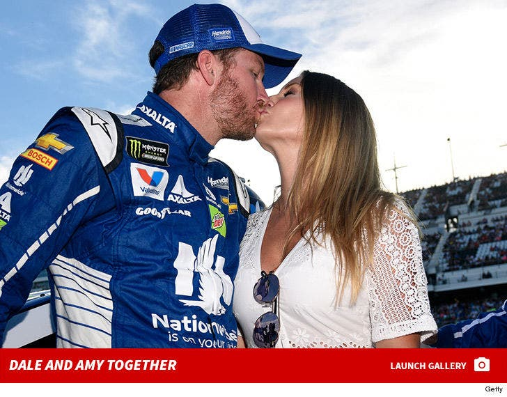 Dale Earnhardt Jr. and Amy Reimann Together