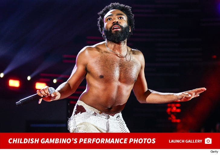 Childish Gambino's Performance Photos