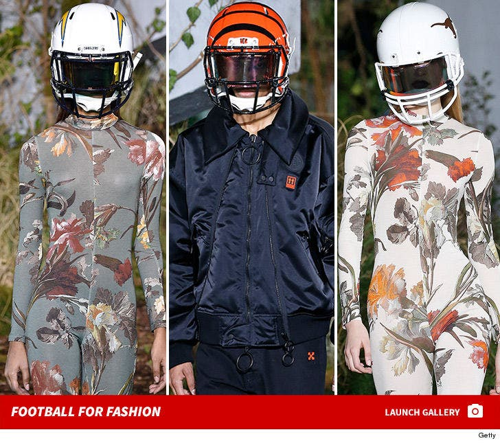 Off-White Runway Show -- Football for Fashion