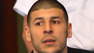 Aaron Hernandez -- Blocked From Watching NFL in Jail