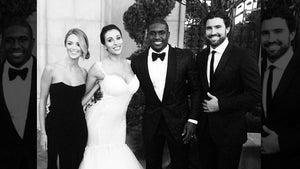 Brody Jenner Attends Wedding For Kim Kardashian's Ex ... FEEL THE BURN!