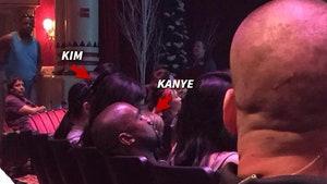 Kanye West -- Snoozing Kanye Called Out By Elsa At Disneyland 'Frozen' Show (PHOTO)