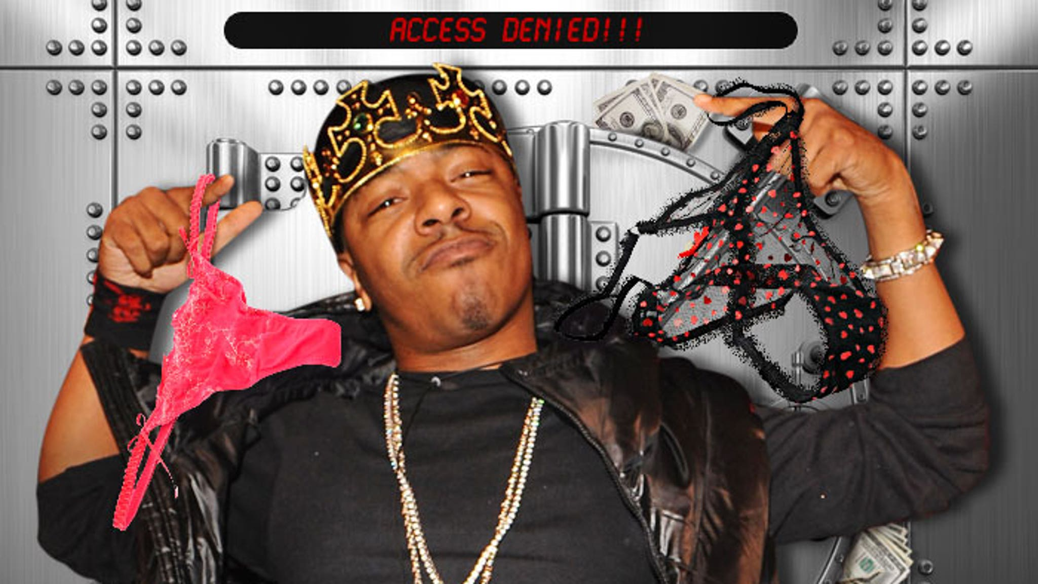 Sisqo -- Let Me See That 'Thong Song' Money! And There's a Ton of It