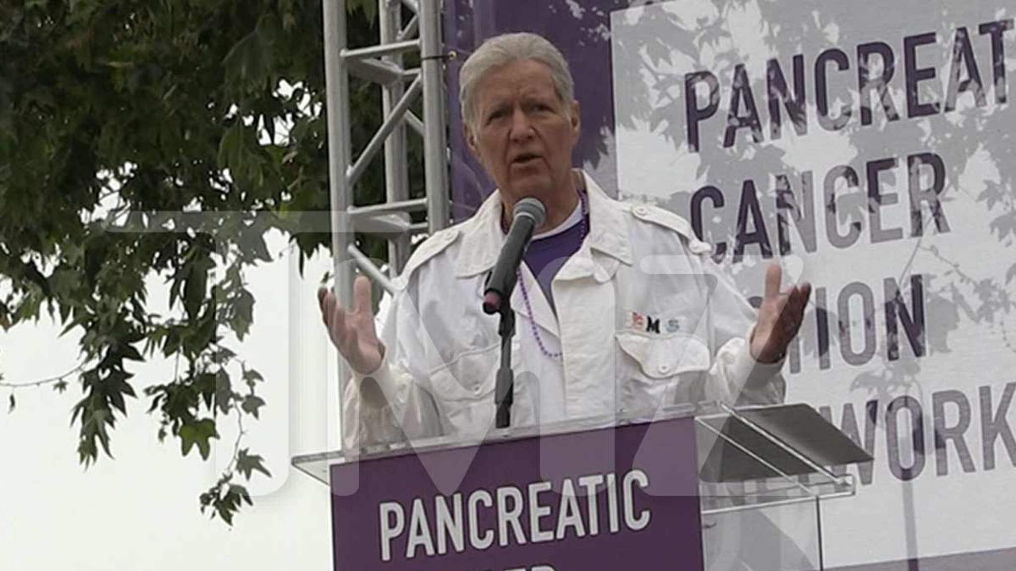 Alex Trebek Pancreatic Cancer Survivors are Like 'Jeopardy' James