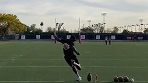 Chad Ochocinco Hits 60-Yard Field Goal & Goes Insane, 'Let's F**king Go!'