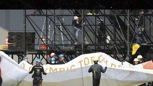 Japan Begins Taking Down 2020 Olympics Signage, Sad