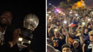 Thousands Of Suns Fans Flock To Airport To Celebrate With Team After NBA Finals Berth