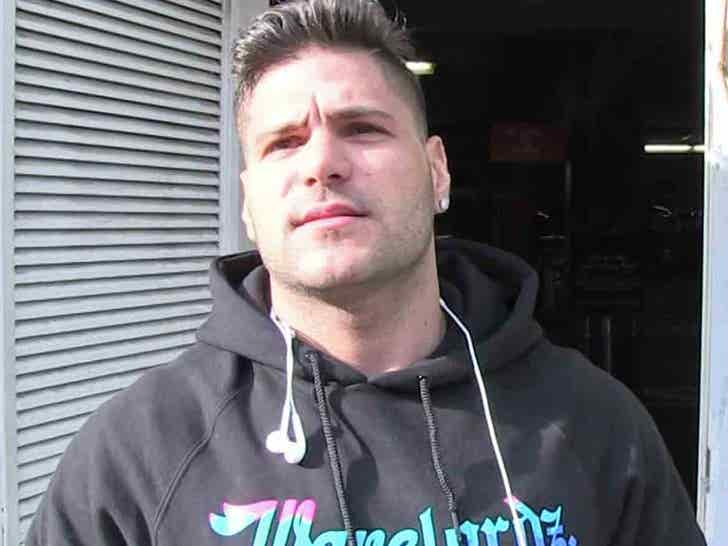 Ronnie Ortiz-Magro Will Dodge Kidnapping Charge - TMZ