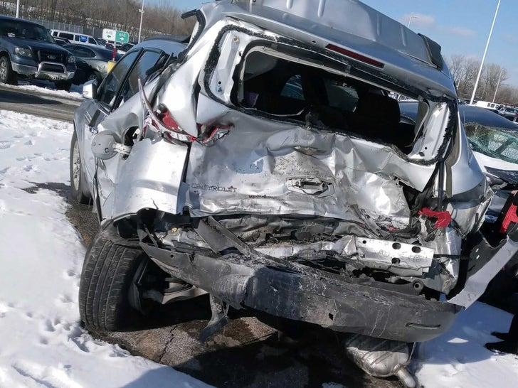 Britt Reid's Crashed Cars