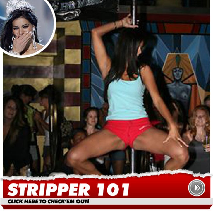 Miss usa pics on stripper pole
