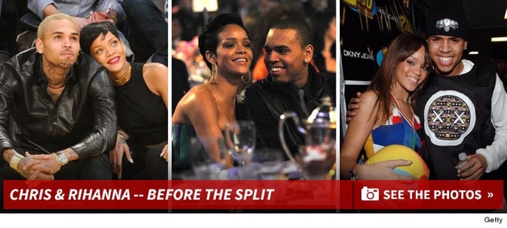 Chris Brown and Rihanna -- Before the Split