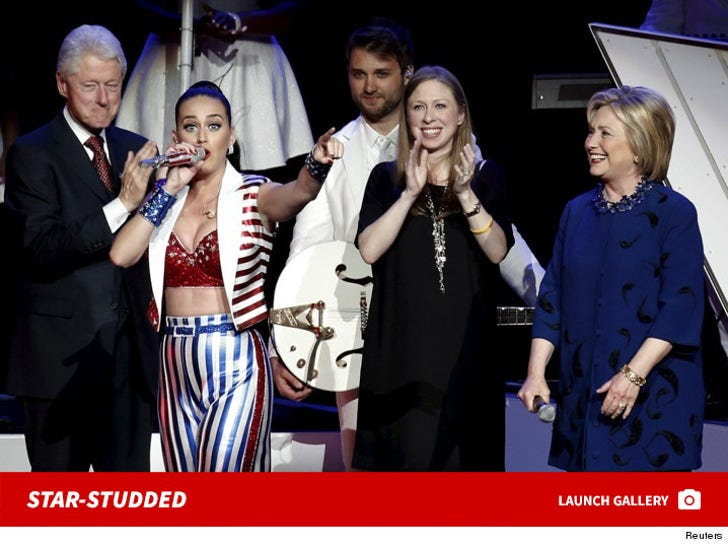 Hillary Clinton's Star-Studded Fundraiser