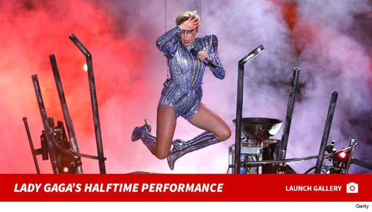 Lady Gaga's High-Flying Halftime Performance