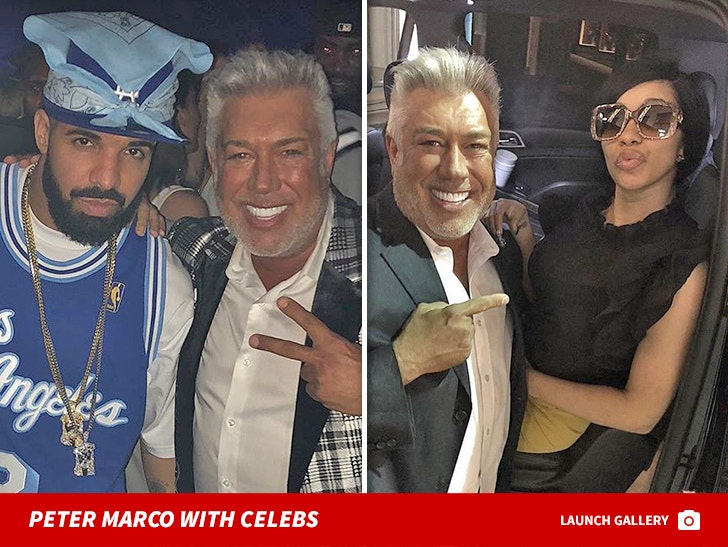 Peter Marco with Celebs Photos