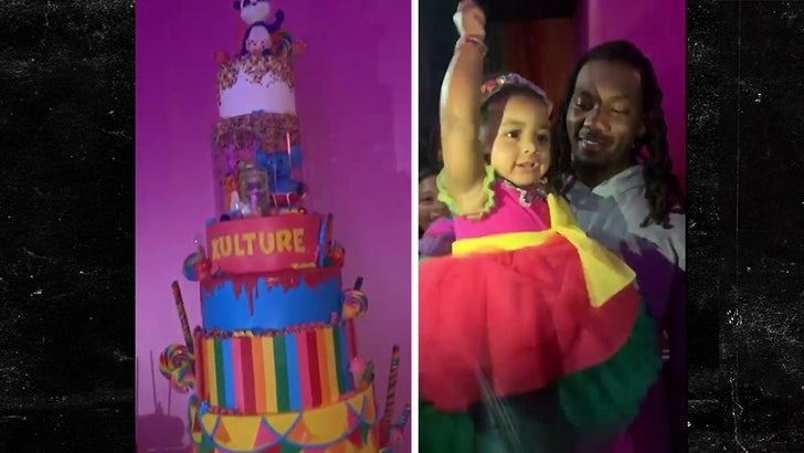 Cardi B S Daughter Kulture Had An Amazing First Birthday Party