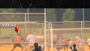 MLB's Tyrell Jenkins Throws Punches in Crazy Softball Game Brawl in Texas